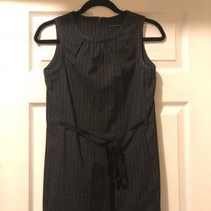Wool/cotton Theory charcoal dress